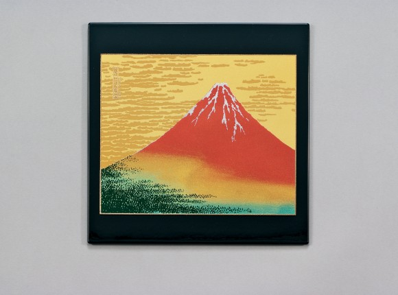 Akafuji (Red Mt. Fuji) Mouse Pad (B)