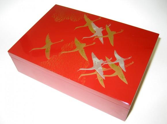 Hishou (Flying Cranes) 15cm Small Box